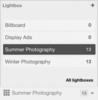 Lightbox list