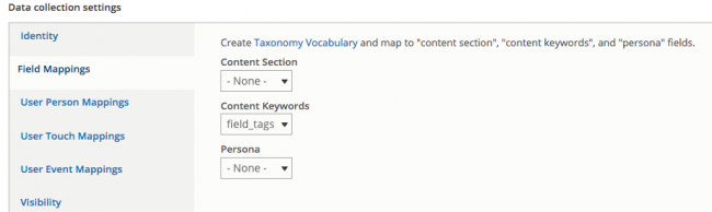 Mapping taxonomies
