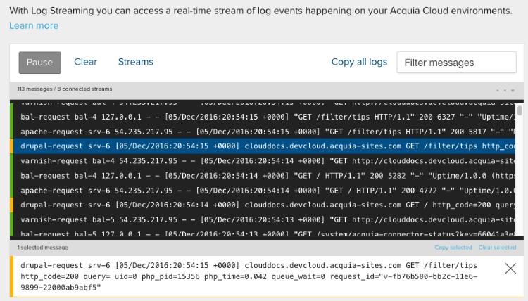 log entry full text image