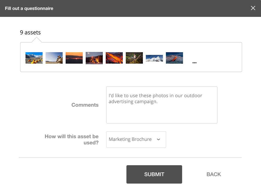 Download request form