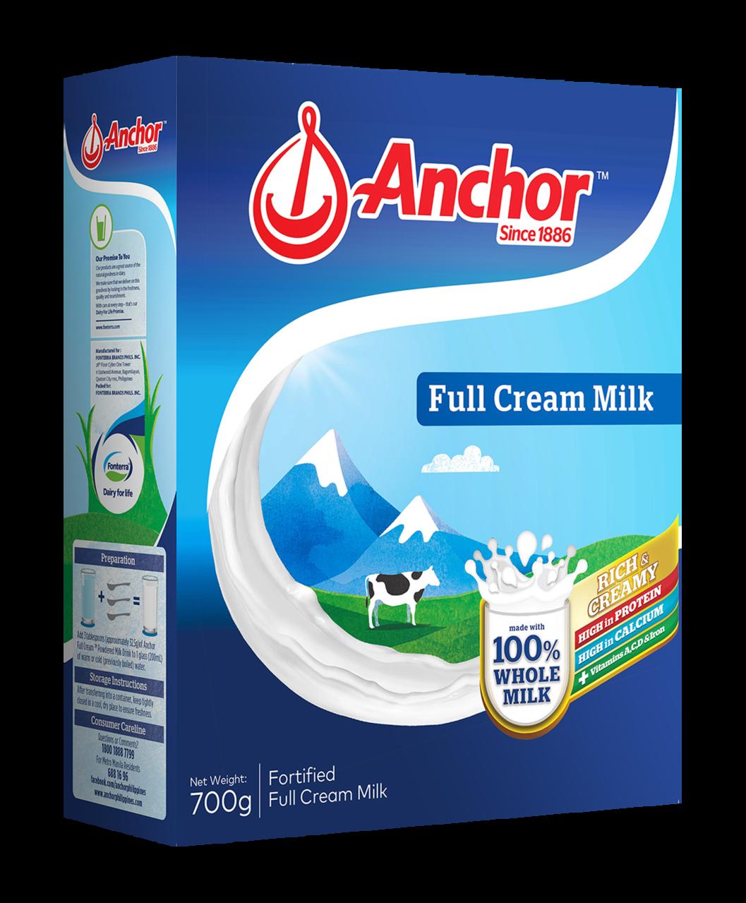 Anchor Full Cream Milk