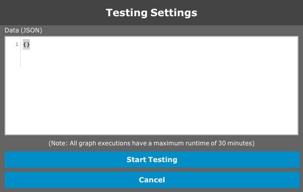 Standard graph test