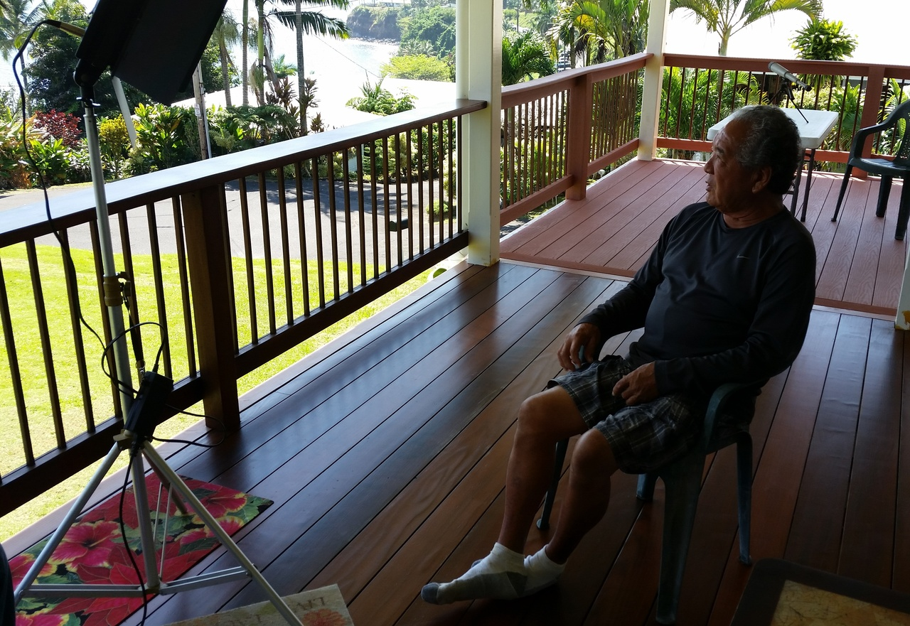 Raymond Kawamoto of Hilo shares some stories from a lifetime of bottomfishing in Hawai'i