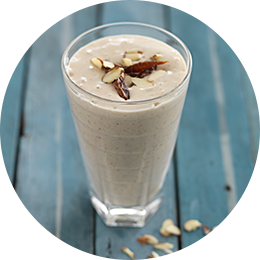 Mixed Nuts and Date Smoothie