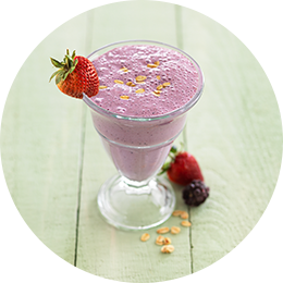 Oat and Berry Smoothie