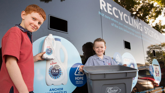 Our Recycling programme - Join our Recycling Moo-vement