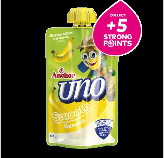 Anchor Uno Banana Yoghurt Pouch 100g
