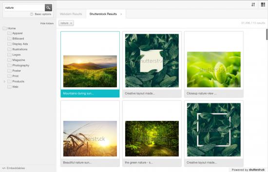 Shutterstock results