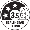 3.5 health star rating