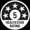 5 health star rating